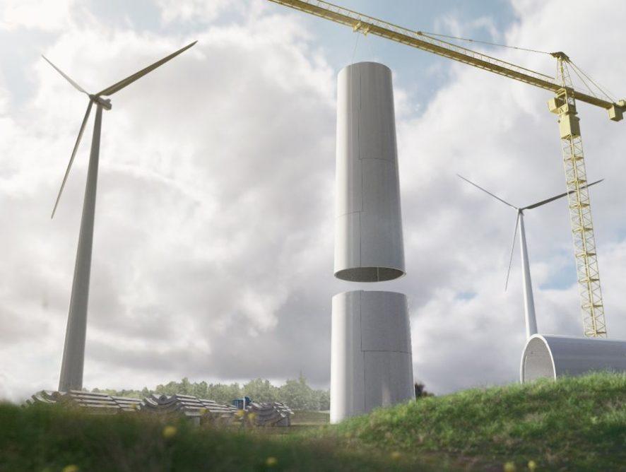 Башни ветрогенераторов, напечатанные на 3D принтере: преимущества установок