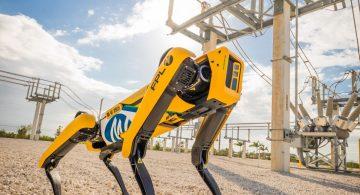 Четвероногий робот Spot от Boston Dynamics стал работником на судне FPSO Skarv
