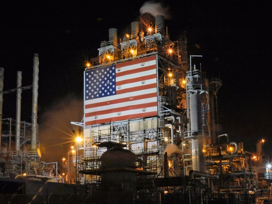 Лидерство США среди нефтедобывающих стран сохранится в текущем году