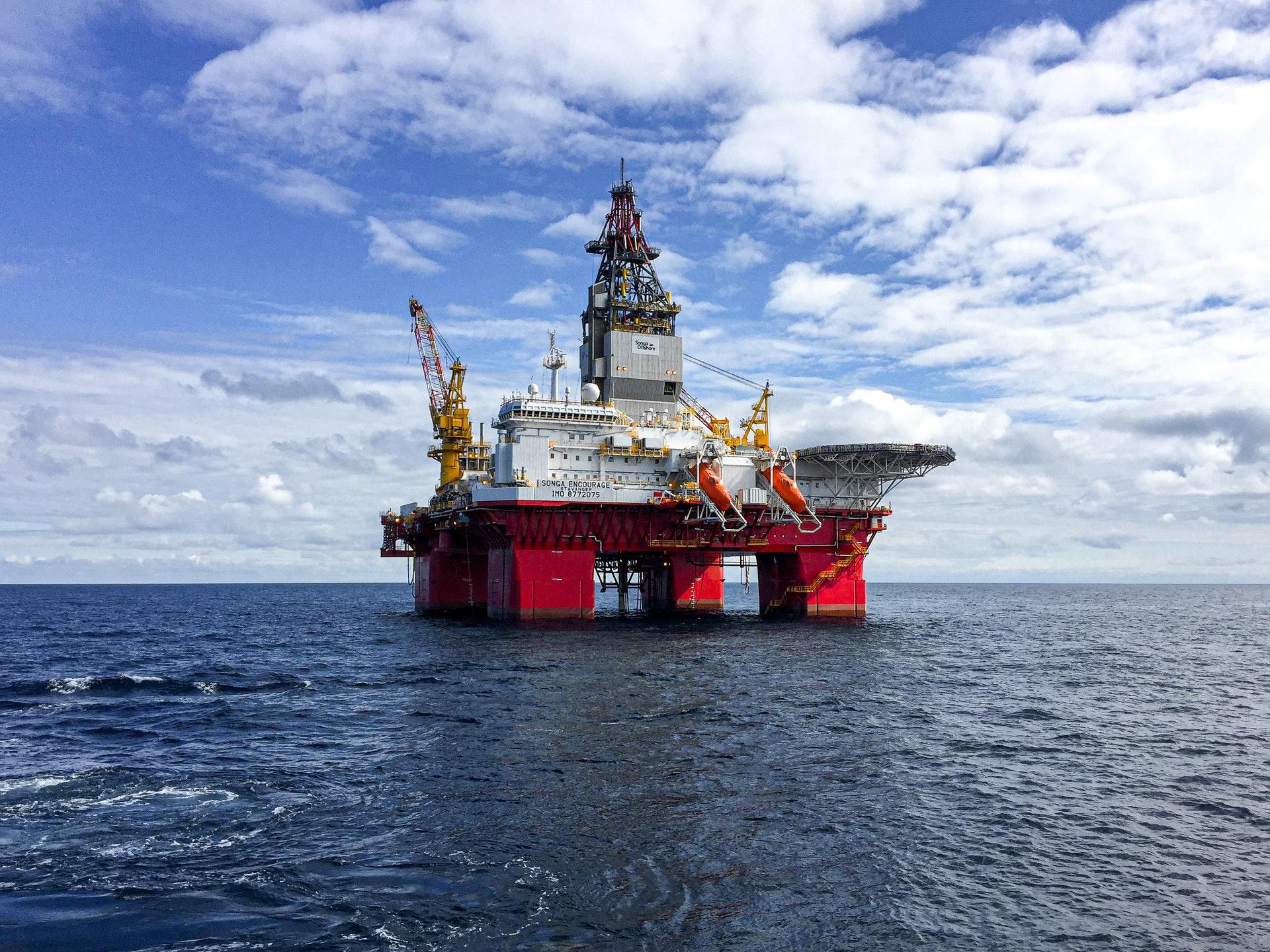 объекты в Северном море
